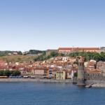 Vue sur Collioure, la cité des peintres, à 15 min de l'hôtel Plage des Pins