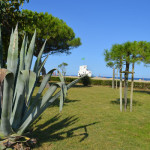 Le poste de secours de la plage d'Argeles, à coté de l'hôtel – Pour une baignade sécurisée