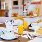 Petit-Déjeuner Hôtel plage des Pins