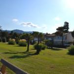 L'hôtel de la Plage des Pins, vu de la promenade d'Argelès sur mer