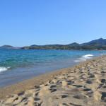 La plage d'Argelès sur mer, entre mer et montagne, à coté de l'hôtel